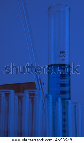 chemical equipment - stock photo