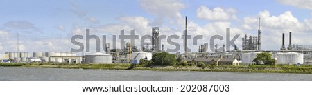 Chemical Industry - stock photo