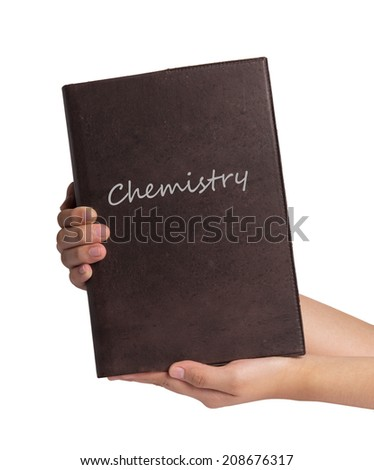 Chemistry book  - stock photo