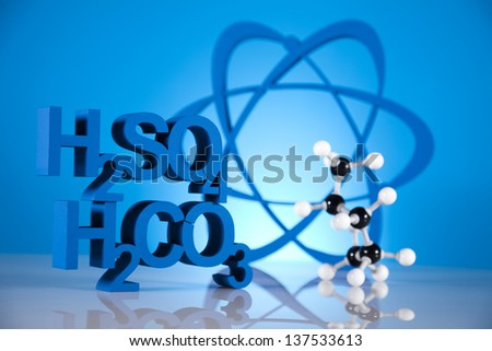 Chemistry,Molecular construction, dna - stock photo