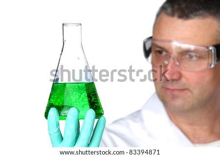 Chemistry Scientist - stock photo