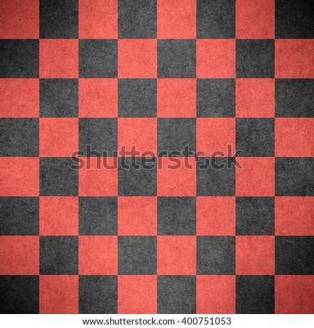 chequered pattern texture or red and black chessboard background, check - stock photo