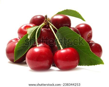 Cherry fruit  - stock photo