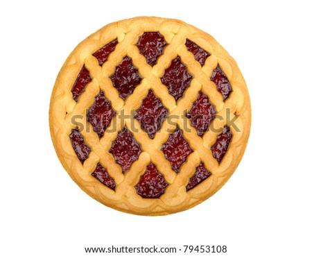 cherry pie - stock photo