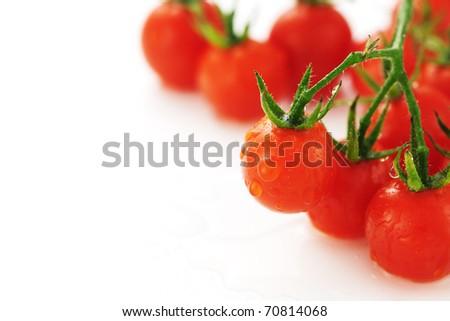 Cherry tomatoes. - stock photo