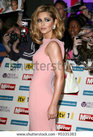 Cheryl Cole arriving for the 2011 Pride Of Britain Awards, at the Grosvenor House Hotel, London. 04/10/2011 Picture by: Alexandra Glen / Featureflash - stock photo