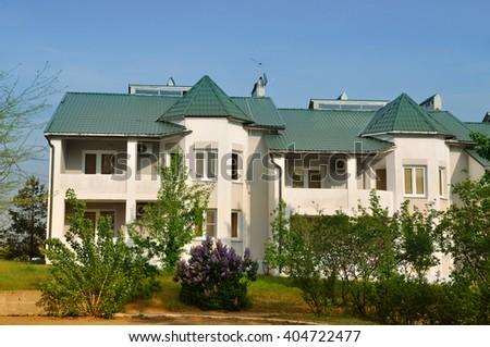 Chess town. Kalmykia Elista. Russia  - stock photo