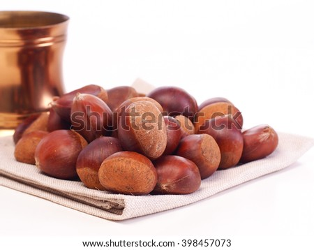 chestnuts - stock photo