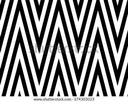 Chevron Abstract - stock photo