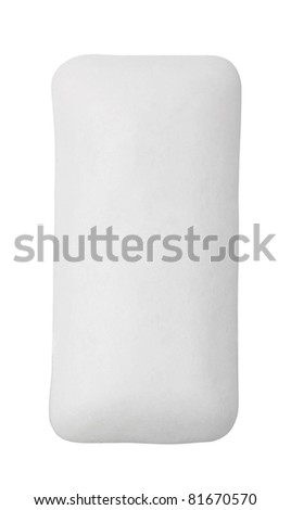 Chewing gum isolated on white - stock photo