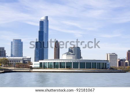 Chicago Downtown - stock photo