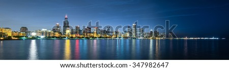 Chicago Style - stock photo