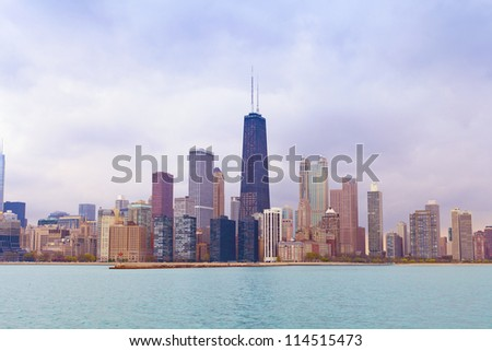 Chicago (Water Front) - stock photo
