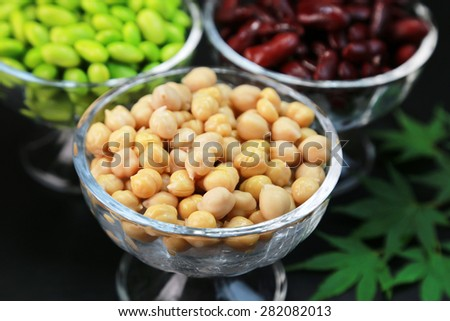 Chick bean - stock photo