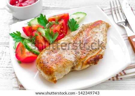 Chicken breast - stock photo