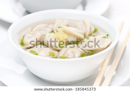 Chinese Chicken Soups Chicken Broth With Chinese