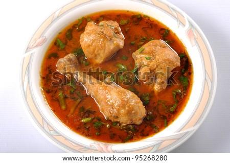 Chicken Curry im-5 - stock photo