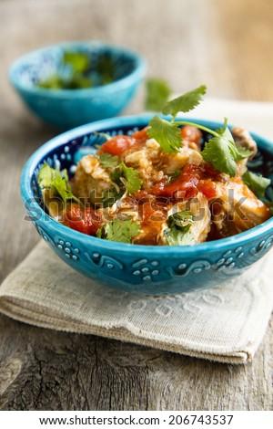 Chicken stew - stock photo