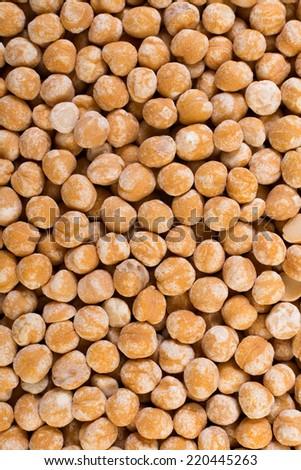 Chickpeas texture - stock photo