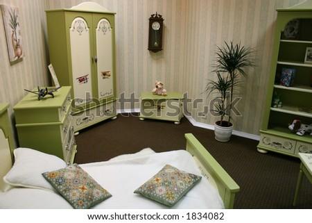 child bedroom - stock photo