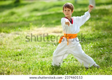 child sports - stock photo