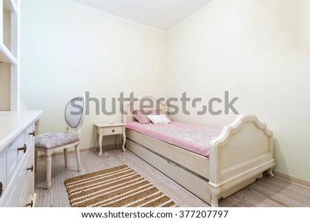 Children bedroom interior - stock photo