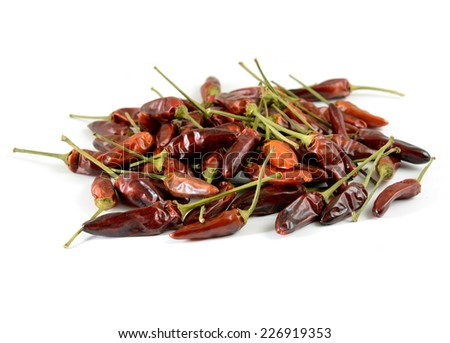 chilly paprika - stock photo