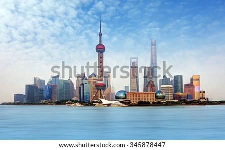 China - Shanghai - stock photo