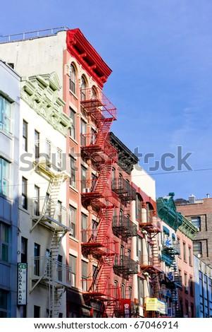 China Town, New York City, USA - stock photo