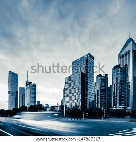 China Urban Landscape - stock photo