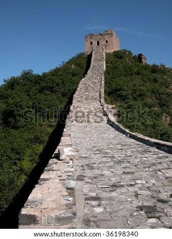 China wall blockhouse - stock photo