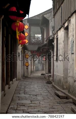 China, Zhouzhuang, 2011 - stock photo