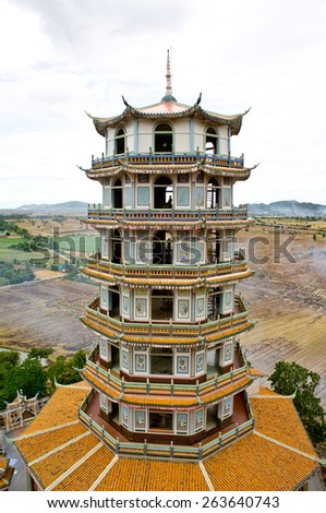 Chinese Building - stock photo