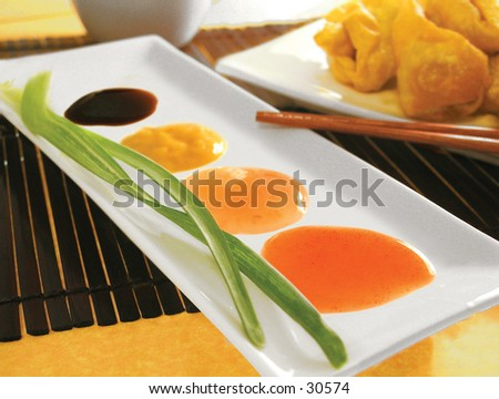 Chinese condiment - stock photo