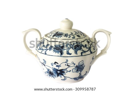 chinese cup - stock photo