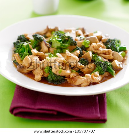 Chinese Food Chicken And Broccoli Chinese Food Chicken And