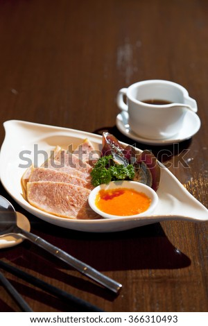 chinese food, cold plate appetizer - stock photo