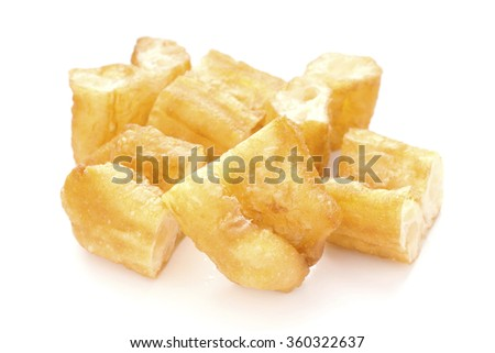 Chinese Fried Crullers; non-sharpened  - stock photo
