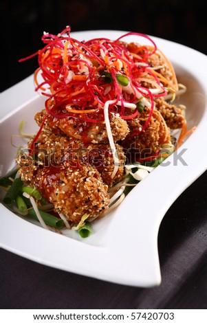 chinese gourmet food - stock photo
