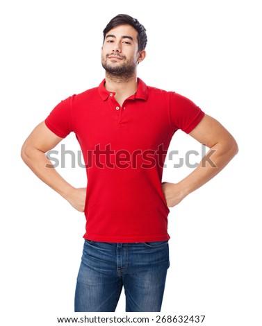 chinese man proud - stock photo