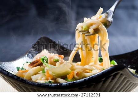 chinese noodle - stock photo