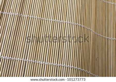 Chinese placemat - stock photo