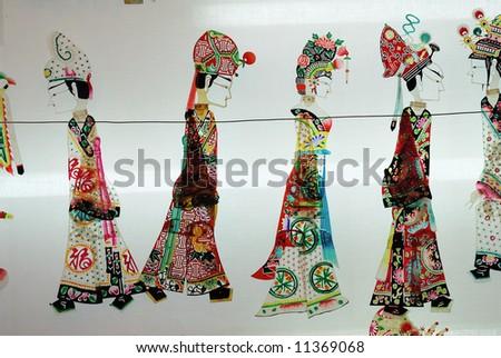Chinese puppets - stock photo