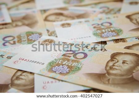 Chinese RMB - stock photo