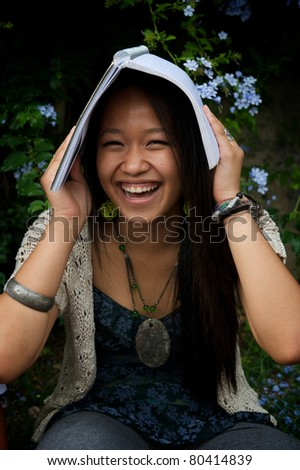 chinese student - stock photo