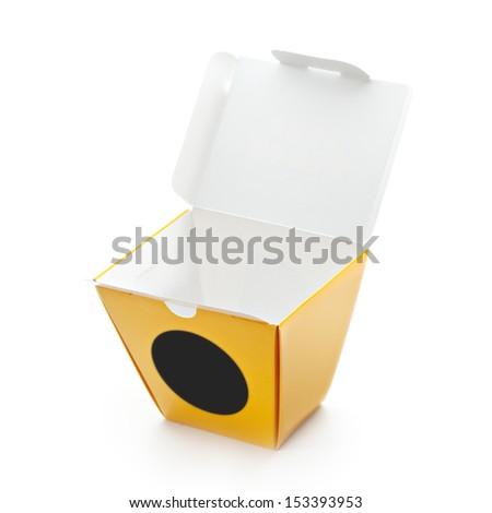 Chinese Take-out Box - stock photo