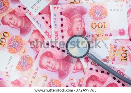 Chinese yuan money with stethoscope,costs for the medical insurance - stock photo