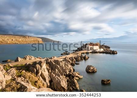 Chios Island, Greece - stock photo