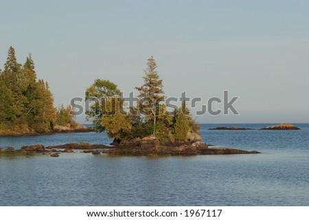 Chippewa Harbor - stock photo