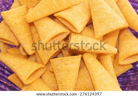 chips, closeup, heap, isolated, cholesterol, slice, nobody, fried, delicious, fat, bowl, white, crisps, diet, fatty, unhealthy, snack, prepared, vector, yellow, salt, stack, pile, calories, rippled,  - stock photo